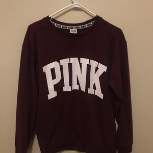 Maroon Pink Sweater